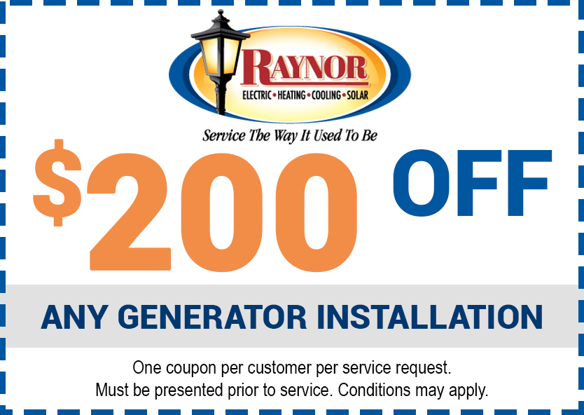 Special  from Raynor Services